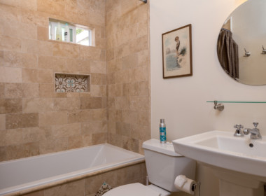 Main cottage bath