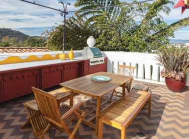 Private roof terrace, kitchen_dining