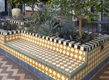 (R6) 531-G - courtyard bench